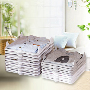 give your tidy and orderly home---lazy folding clothes board