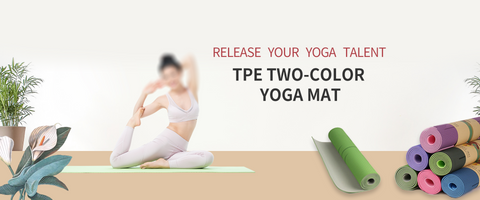 yoga bolsters with position line and double-sided anti-slip