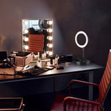 10in Dimmable LED Foldable Ring Light & Phone Holder