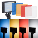 60LED Panel Lights Tabletop or Handheld Photography 8-Color Filter
