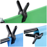 Backdrop Clips Spring Clamps for Backdrop Stand 8-Pack 2in
