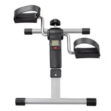 Mini Pedal Exerciser Cardio Cycle Bike w/ Monitor