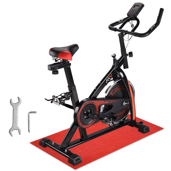 AW Exercise Bike Trainning Cycle Indoor Fitness Black