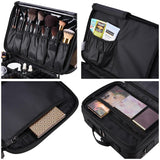 Beauty Makeup Cosmetic Oxford Storage Train Bag Size Opt