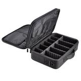 "13"" Beauty Makeup Cosmetic Oxford Storage Train Bag"