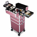 Byootique Rolling Makeup Nail Polish Hair Tools Case Lockable