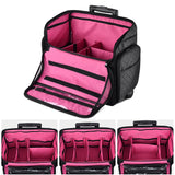 Byootique Rolling Makeup Hair Stylist Hobbyist Case