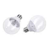 Vanity Mirror Light Bulbs Purple, 3W E27 Set of 6