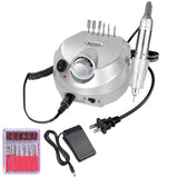 Silver Nail Art Drill Machine Kit (Bits included)