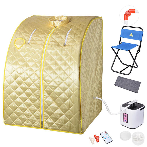 Portable Sauna Tent Slimming Room Lose Weight Spa, Antique Moss