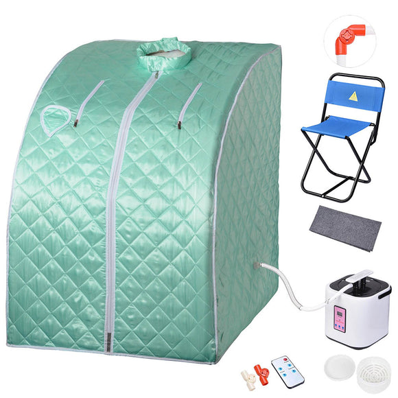 Portable Sauna Tent Slimming Room Lose Weight Spa, Green Ash