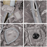 Gray Portable Sauna Tent Slimming Room Lose Weight Spa