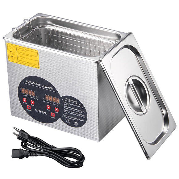 3L Stainless Steel Ultrasonic Cleaning Machine
