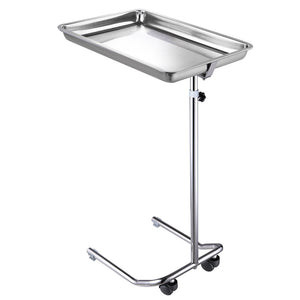 Rolling Steel Mayo Tray Medical Instrument Stand II