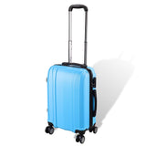 "20"" 4-Wheel Hardside Spinner Suitcase Luggage Blue"