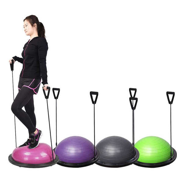Yoga Balance Training Half-Ball Kit for Home Gym Color Opt