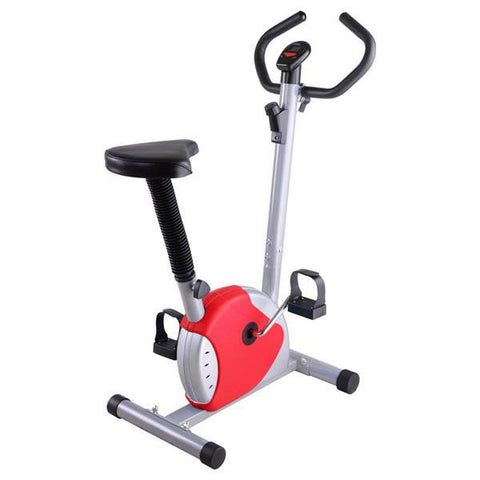 Upright Bike Exercise Fitness Indoor Cycle Red