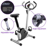 Upright Bike Exercise Fitness Indoor Cycle Black