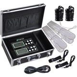 Dual Ion Detox LCD Foot Spa Bath Machine w/ Arrays Belts Kit