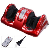 Red Kneading & Rolling Foot Leg Calf Massager w/ Remote
