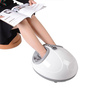 White Heat Kneading Rolling Foot Massager