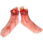 Halloween 5 Pcs Bloody Scary Hands Foot Leg Body Parts