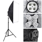 Shooting Table 12x 45W Bulbs Photo Studio Lighting Kit
