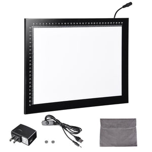 "14"" Dimmable Stencil Light Box Tattoo Tracing LED Light Pad"