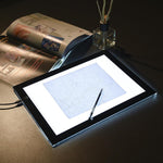 "14"" Ultra-Thin Stencil Light Box Tattoo Tracing LED Pad w/ Bag"