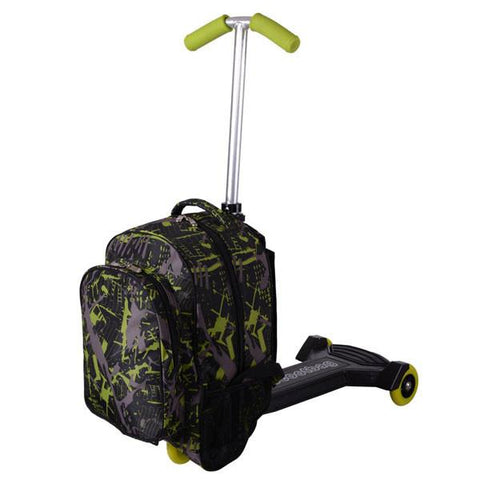 Mini Travel Rolling Carry On Oxford Luggage Scooter 0406