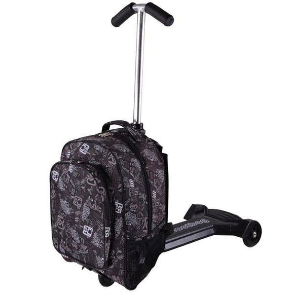 Mini Travel Rolling Carry On Oxford Luggage Scooter 0607