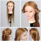 "26"" Cosmetology Mannequin Head w/ Synthetic Hair"