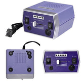 Violet Nail Art Drill Machine Kit (Bits included)