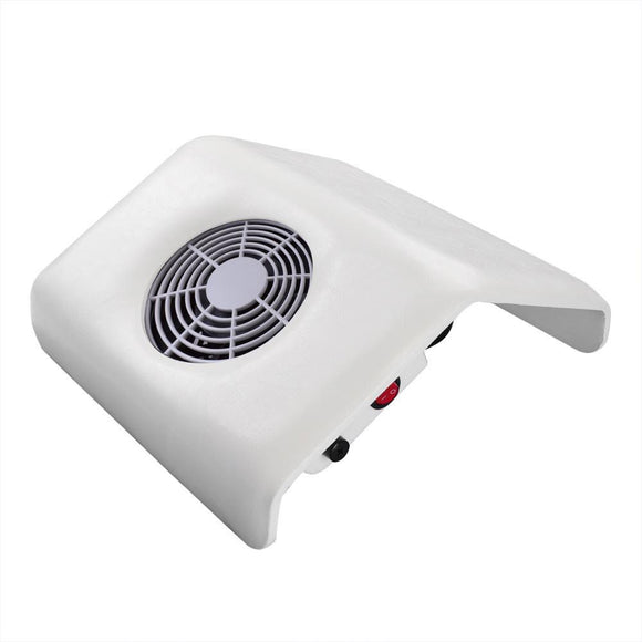 White Nail Art Dust Suction Collector