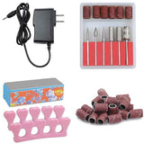 Rosy Manicure Nail Art Drill Machine Kit w/ Bits