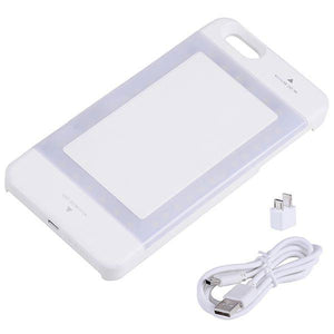 iPhone 6/6s Plus External Battery Case Pack Built-in LED White
