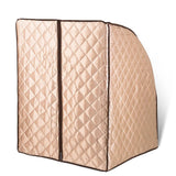 Champagne Portable Sauna Tent Slimming Room Lose Weight Spa
