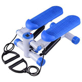 Mini Twist Stair Stepper w/ Resistance Band Blue