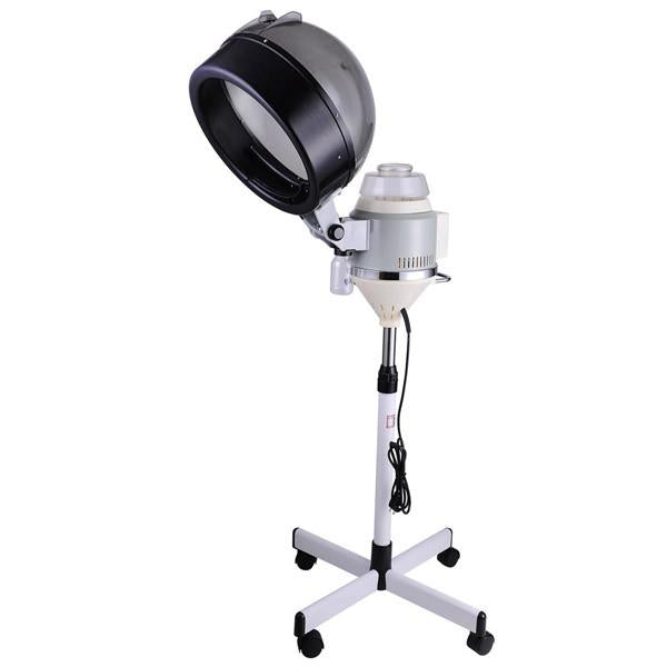 Professional Hair Steamer Rolling Stand Beauty Salon Color: Grey Professional Salon Rolling Hair Steamer W/ Stand