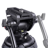 "70.8"" 3-Stage Aluminum Video Tripod Fluid Pan Head (Preorder)"