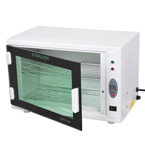 8L Dual Racks UV Sterilizer Cabinet