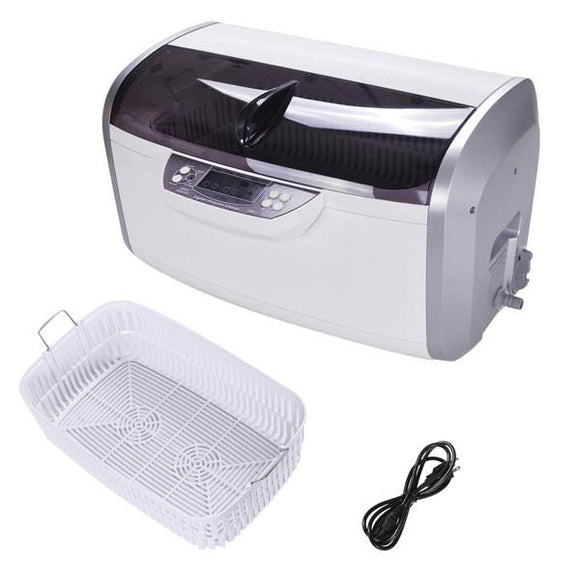 6L Ultrasonic Cleaner for Jewelry Tank 12