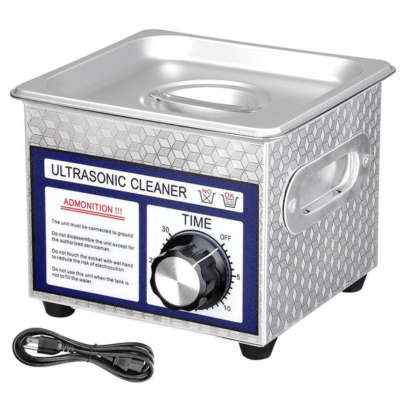 1.3L Stainless Steel Ultrasonic Cleaner Tank 6
