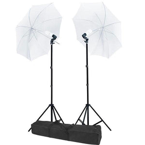 "32"" Umbrella Photo Lighting Continuous Lights Kit"