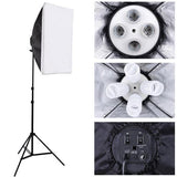 12x 45W Photo Soft Box Continuous Lighting Kit