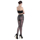 8D Control Top Women Silky Hosiery Tights Pantyhose Black