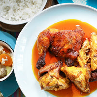 Roasted Chicken in Ginger Annatto Oil
