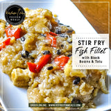 Stir Fry Fish Fillet with Black Beans & Tofu