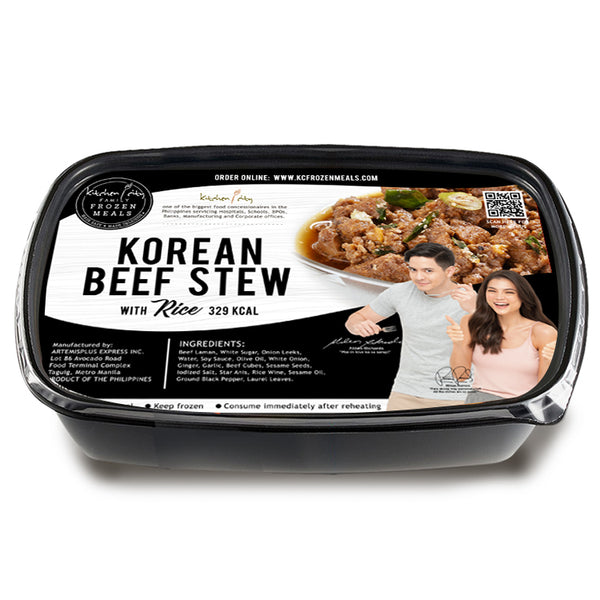 Korean Beef Stew Rice Meal