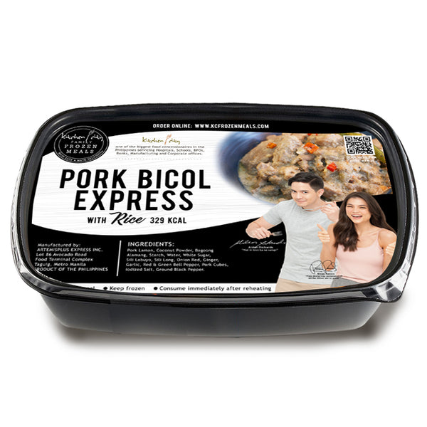 Pork Bicol Express Rice Meal